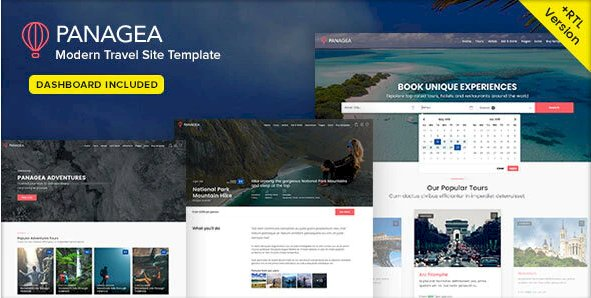 Panagea 1.5 – Travel And Tours Listings Template