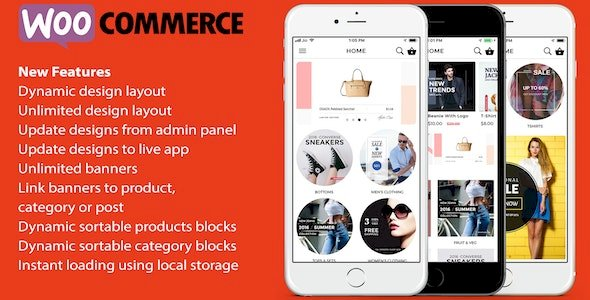 ionic 3 App for WooCommerce v8.0.1 – Nulled Android App Free Download