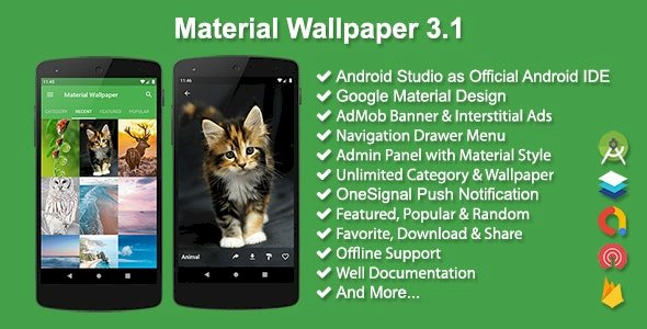 Material Wallpaper v3.1 By Solodroid – Nulled Free Download